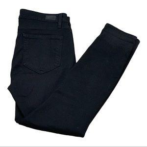 PAIGE Verdugo Crop Jeans Black Size 29